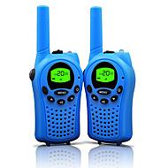 Radiopuhelimet lapsille 22 kanavaa ja kestävä (jopa 5 km avoimilla alueilla) värikäs Radiopuhelimet lapsille (1 pari) t668