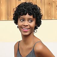 новый рисунок короткий объем преобладает модный афро-ролл человеческих волос парик