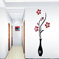 Botanisch Wand-Sticker Flugzeug-Wand Sticker Dekorative Wand Sticker,Vinyl Stoff Haus Dekoration Wandtattoo