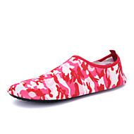 Damen Loafers & Slip-Ons Komfort Leuchtende Sohlen Stoff Frühling Sommer Herbst Winter Outddor Sportlich Wasser-Schuhe Flacher Absatz
