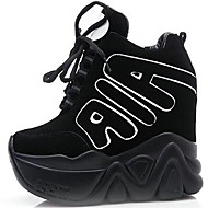Women's Sneakers Spring Summer Fall Winter Creepers Synthetic Office & Career Party & Evening Dress Casual Creepers Black