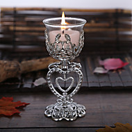 3pc Valentine's Day 2017 Exquisite PVC Candles Scented Candles Romantic Courtship Artifact Tea Wax Color Random
