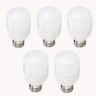 7W E26/E27 Ampoules Maïs LED T 12 SMD 2835 700 lm Blanc Chaud Blanc Froid Décorative AC 100-240 V 5 pièces