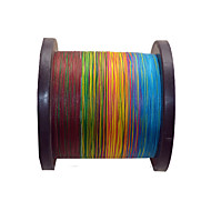 100M / 110 Yards PE Braided Line / Dyneema / Superline Fishing Line rainbow trout 20LB 1 mm For General Fishing