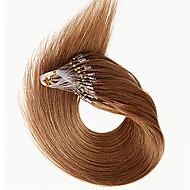 ζεστό πώληση μαλλιά επεκτάσεις μικρο δαχτυλίδι βρόχο βραζιλιάνα remy μαλλιά ίσια μικρο βρόχο επεκτάσεις ανθρώπινα μαλλιών