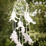 装飾装飾工芸ギフト風鈴をぶら下げ羽の1pcs最新手作りドリームキャッチャーネット