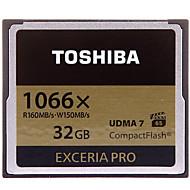 Toshiba 32 GB Compact Flash  CF karty Paměťová karta EXCERIA Pro 1066X VPG-65