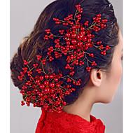 מסרק צד אביזרים לשיער פנינה אבזרי פאות לנשים