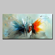 Hand Painted Abstract Butterfly Animal Oil Painting On Canvas Modern Abstract Wall Art Picture For Home Decoration Ready To Hang