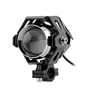U5 12v førte lampe fjernlys forlygte tågelygte spotlight til motorcykel bil lastbil med og slukkes switch knap