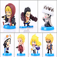 Anime Action Figures Inspired by One Piece Monkey D. Luffy PVC 5 CM Model Toys Doll Toy