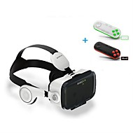 Integrated Earphone Virtual Reality Headset BOBO VR for 4.7-6.2 Inch Smartphone with Bluetooth Remote Gamepad