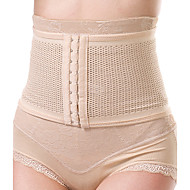 Women's Sexy Maternity Postpartum Slimming Underwear Corset Girdle Hook Belt Waist Nylon Beige