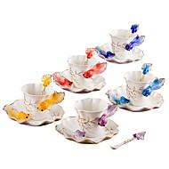 Erikois-juomalasit Teekupit Viinilasit Vesipullot Kahvimukit Tee ja juoma 1 PC Keraaminen, -  Korkealaatuinen