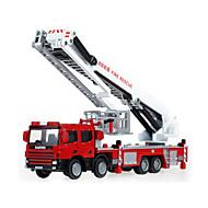 רכב מכבי אש צעצועים צעצועים רכב 01:50 ABS פלסטיק מתכת כסוף צעצוע בניה ודגם