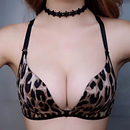 3/4 cup Bras,Push-up Double Strap Spandex