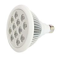 36W E27 Luz de LED para Estufas 12 LED de Alta Potência 800 lm Vermelho Azul V 1 pç