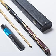 Cue Sticks & Acessórios Sinuca Inglês Bilhar Três quartas-de duas peças Cue Madeira