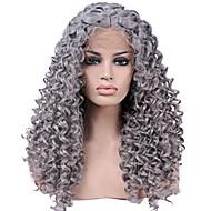 odporna na ciepło koronki przodu peruk syntetycznych ciepła kręcone włosy splątane włosy włókna odpornego na mody