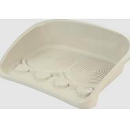 Chien Bols & Bouteilles d'eau Animaux de Compagnie Bols & alimentation Portable Rouge Blanc Plastique