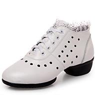 Düşük Topuk-Yapay Deri-Dans Sneakerları-Kadın-Kişiselletirilmemiş