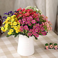 1 şube Plastik Kasımpatı Masaüstü Çiçeği Yapay Çiçekler