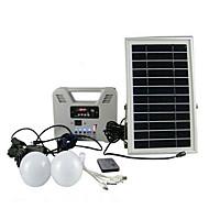 Hof kleine Solarleuchten mit Multi-Funktions-kleine Solar Radio