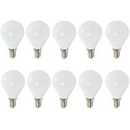 7W E14 E26/E27 LED Λάμπες Σφαίρα G45 6 SMD 2835 680 lm Θερμό Λευκό Ψυχρό Λευκό Διακοσμητικό AC 220-240 V 10 τμχ