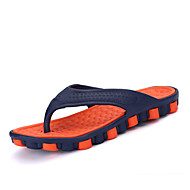 Men's Slippers & Flip-Flops Summer Light Soles PU Office & Career Casual Flat Heel