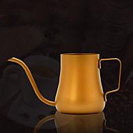 600 ml Rustfritt stål Kaffekjele , 5 kopper Brew Coffee Maker Gjenanvendelige Manuell