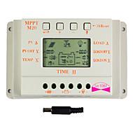 Y-태양 20A LCD 디스플레이 태양 광 충전 컨트롤러 12V 및 24V 자동 스위치 M20