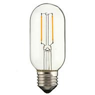 2W E27 LED filament žarulje P45 2 COB 180 lm Toplo bijelo Hladno bijelo AC 220-240 V 1 kom.