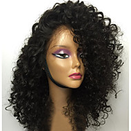 Unprocessed 12-26 Inch 130% Density Virgin Brazilian Natural Color Curly Lace Front Wig Human Hair Lace Front Wigs