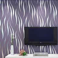 Contemporary Wallpaper Art Deco 3D Simple Modern Wallpaper Wall Covering Non-woven Fabric Wall Art