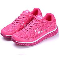 as sapatilhas das mulheres primavera sola de luz verão tule ao ar livre atlético azul verde rosa roxo