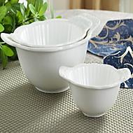 Keramik Servering & Salat Skål porcelæn - Høj kvalitet