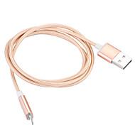 Lightning USB 3.0 Кабель Кабель для зарядки Для передачи данных Магнит Плетение Кабели Назначение Apple iPhone iPad cm Нейлон