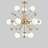 Montagem do Fluxo ,  Contemprâneo Tradicional/Clássico Galvanizar Característica for LED MetalSala de Estar Quarto Sala de Jantar Quarto