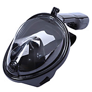 Schnorchel Sets Tauchmasken Tauchpakete Vollgesichtsmaske 180 Grad Tauchen und Schnorcheln Schwimmen Surfen Silikon Rot Grün Blau Schwarz
