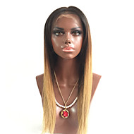 Wholesale Long Silky Straight Hair Wigs T1B/4/27 Blonde Virgin Human Hair Wigs Glueless Lace Front Wigs With Baby Hair For Black Woman