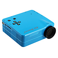 LED1018 LCD QVGA (320x240) Projector,LED 600lm Mini Projector