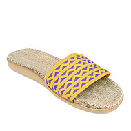 Casual House Slippers Women's Slippers Yellow