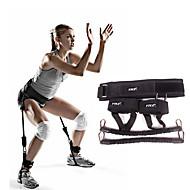 Cvičební gumy Cvičení & fitness Posilovna Oddělitelný Přenosný Silový trénink Černá Kov
