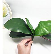 1 Větev Orchidej Květina na stůl Umělé květiny