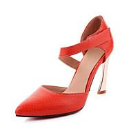 Podpatky-Lakovaná kůže Personalizované materiály-D´Orsay klub Boty-Dámské-Černá Červená Bílá-Svatba Šaty Party-Vysoký