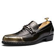 Egyéb-Lapos-Női cipő-Félcipők-Esküvői Alkalmi Party és Estélyi-Bőrutánzat-Fekete Piros Arany