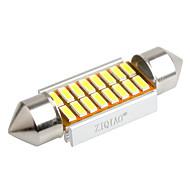 ziqiao 36mm 16 SMD LED 4014 canbus autó girland belső izzók (12V / 2db)