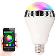 bl-05 drahtlose Bluetooth-4.0-Lautsprecher RGB-LED-Lampe Farbwechsel Smart LED-Licht-Audio-Lautsprecher für ios / android / Tablette