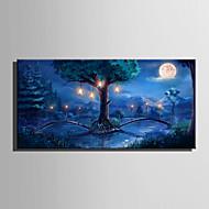 Landschap Bloemenmotief/Botanisch Modern Europese Stijl,Eén paneel Canvas Horizontaal Print Art Muurdecoratie For Huisdecoratie