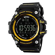 SKMEI Men's Women's Sport Watch Smart Watch Wrist watchLCD Remote Control Calendar Water Resistant / Water Proof Alarm Pedometer